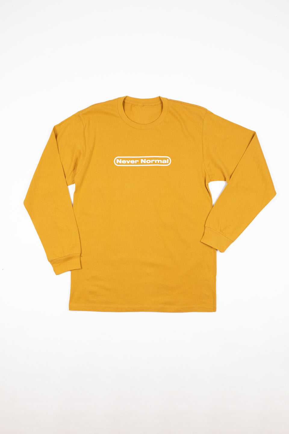 Sam Golbach: Never Normal Signature Mustard Shirt