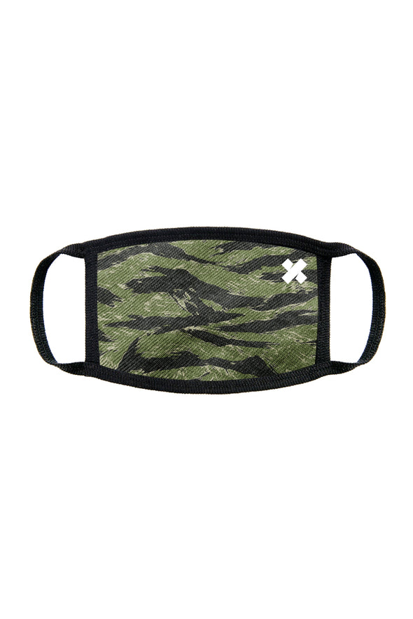 X P L R: LIMITED EDITION TIGER CAMO FACE MASK