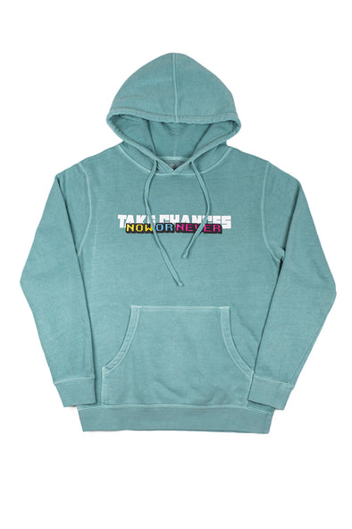 Colby Brock: Take Chances Hoodie Mint Edition