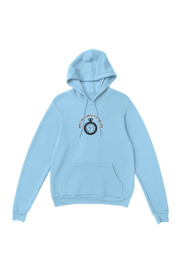 Colby Brock Blue Don't Wait Hoodie