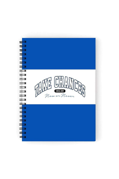 Colby Brock: Take Chances Royal Notebook