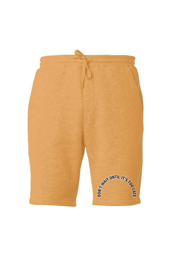 Colby Brock Vintage Yellow Don't Wait Shorts
