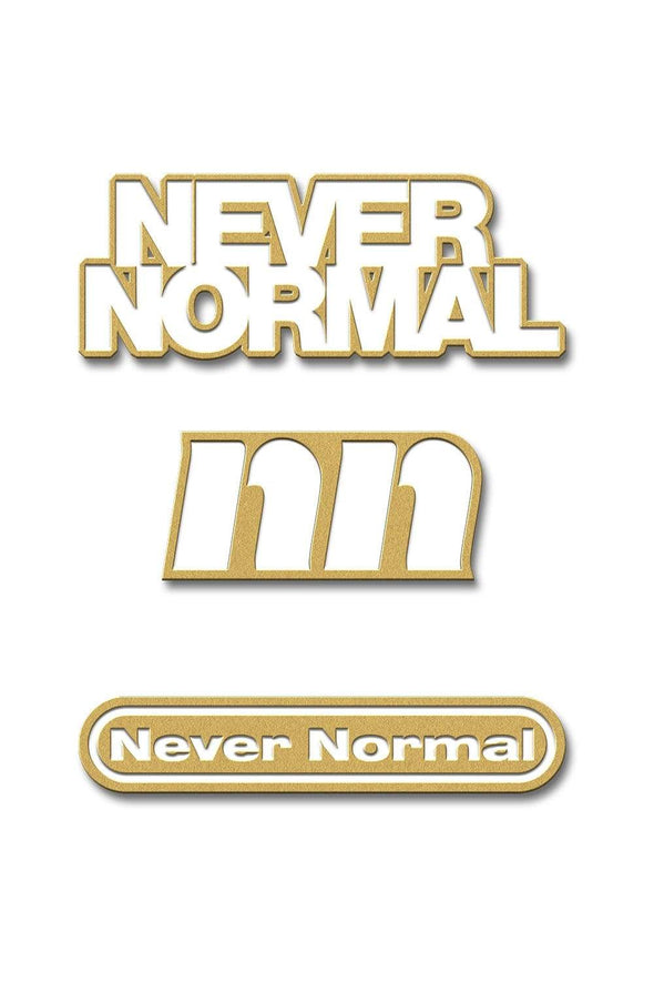 Sam Golbach: Never Normal Enamel Pin Set