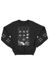 X P L R Black No Limits V2 Crewneck