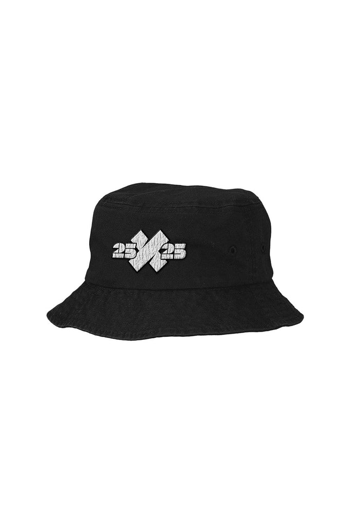 XPLR: 25x25 Black Bucket Hat