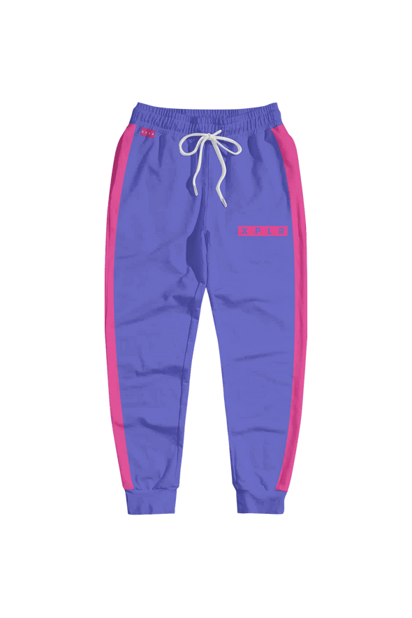 XPLR: Staple Joggers Purple Edition