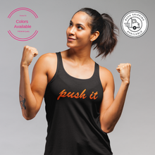 Women's Push It Tank Top! Perfect For Your Workout