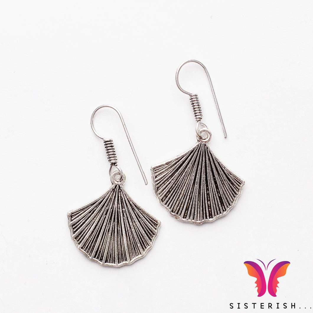 Sexy light weight German Silver daily Earrings
