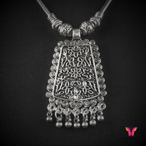 Beautiful Bohemian German Silver Necklace (Pendant)