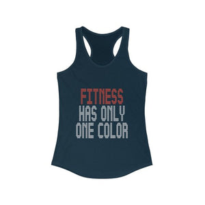 Fitness Has Only One Color | Orange Theory Inspired Tank Top | Perfect To Wear For Your Orange Theory Class And Make A Statement