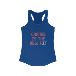 Orange Is The New Fit | Orange Theory Inspired Tank Top | Perfect To Wear For Your Orange Theory Workout |Stay Fit Girls