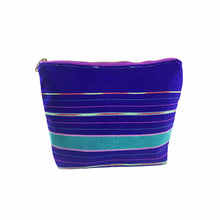 Load image into Gallery viewer, Karen Handwoven Make Up Bag in Violet