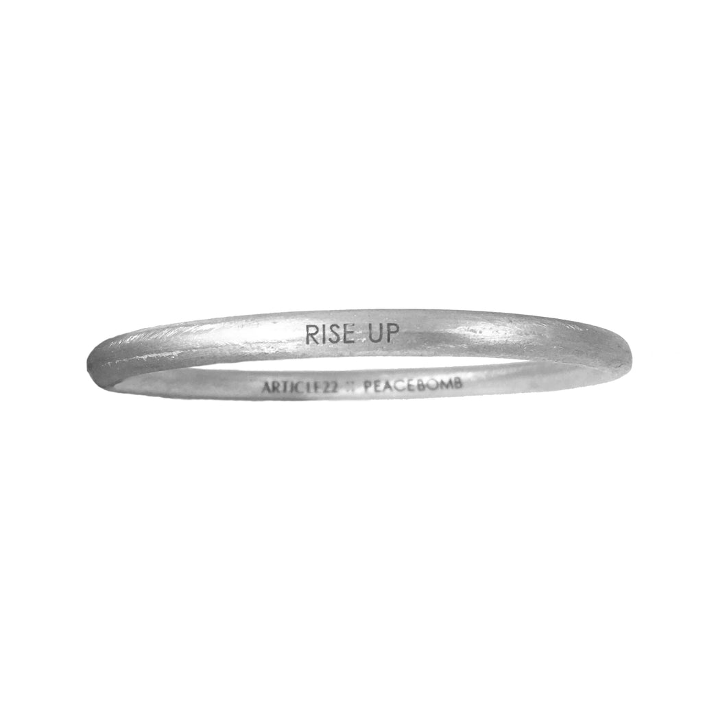Peacebomb RISE Bangle