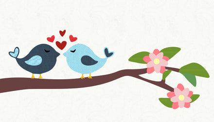 Lovebirds image