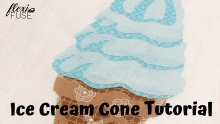 Ice Cream Cone At-Home Tutorial