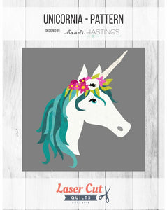 "Pattern: ""Unicornia"" by Madi Hastings"
