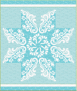 "Laser-cut Kit: ""Snow Crystal"" #madewithflexifuse"