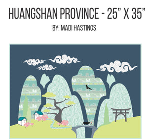 "Pattern: ""Huangshan Province"" by Madi Hastings"