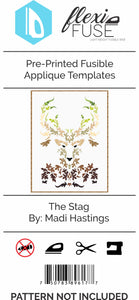 "Pre-Printed FlexiFuse Templates: ""The Stag"" by Madi Hastings"