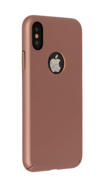 Smartphono Iphone X Basic Protective Case Handyhülle Rose Gold