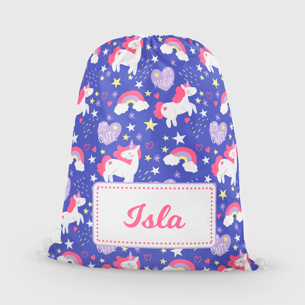 Purple Unicorns Bag