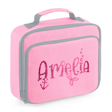 Load image into Gallery viewer, Personalised Mermaid Cooler Lunch Bag