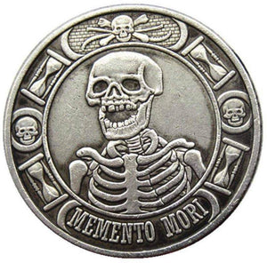 The Inevitability Of Death Silver Coin - SculpturalArt