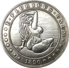 Load image into Gallery viewer, 1890 Pretty Woman Silver Coin - SculpturalArt