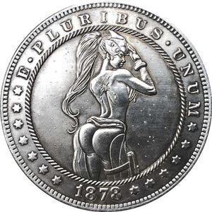 1878 Silver Coin Type 135 - SculpturalArt