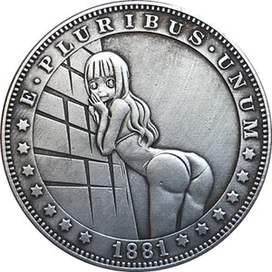 1881 Silver Coin Type 99 - SculpturalArt