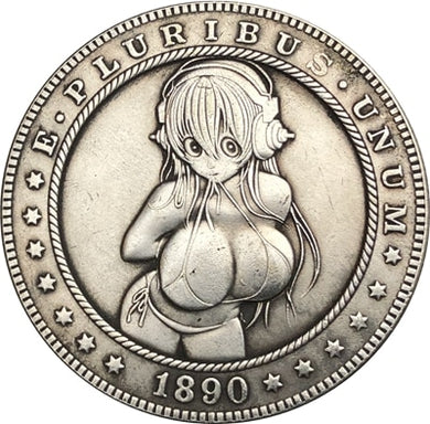 1890 Silver Coin Type 79 - SculpturalArt