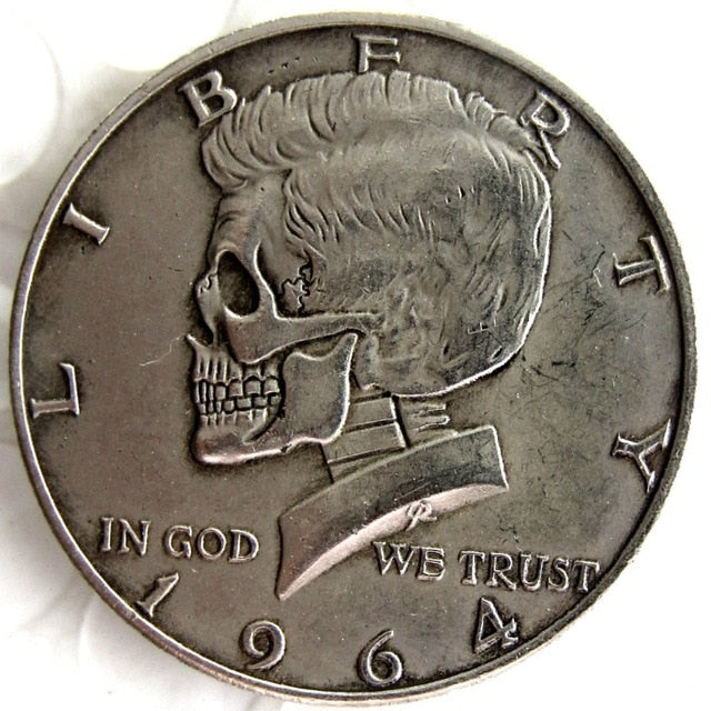 1964 Kennedy Half Dollar Silver Coin - SculpturalArt