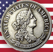 Load image into Gallery viewer, United States 1869 Half Dollar Silver Coin - SculpturalArt