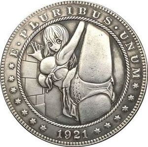 1921 Silver Coin Type 86 - SculpturalArt