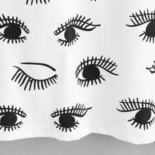 Load image into Gallery viewer, Eye Print White T-Shirt