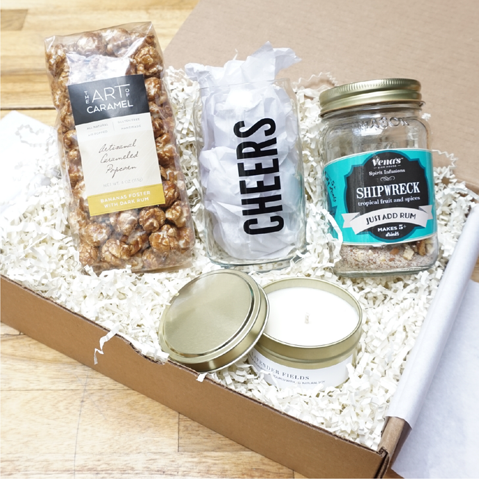 Cocktail Lovers Corporate Gift Box