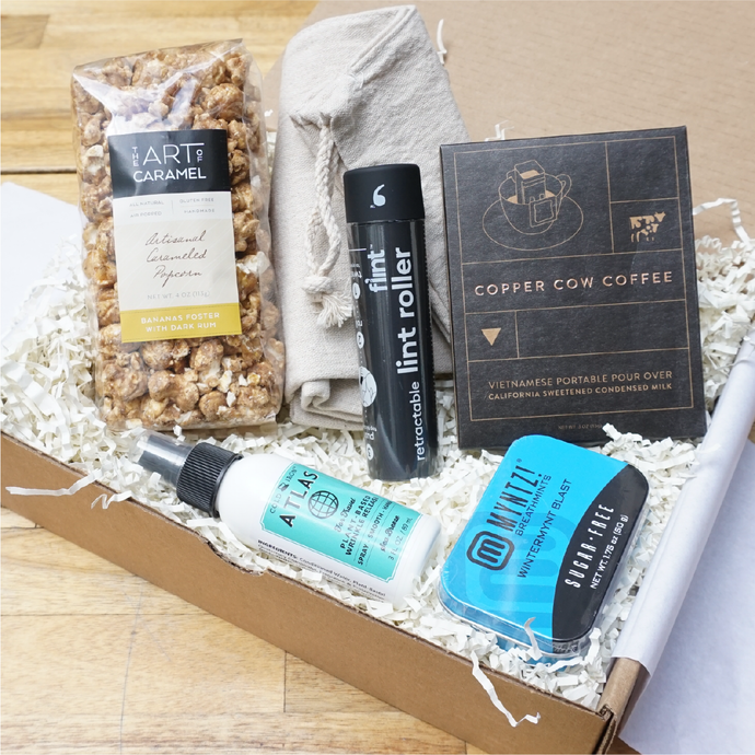 Exec Travel Essentials Corporate Gift Box