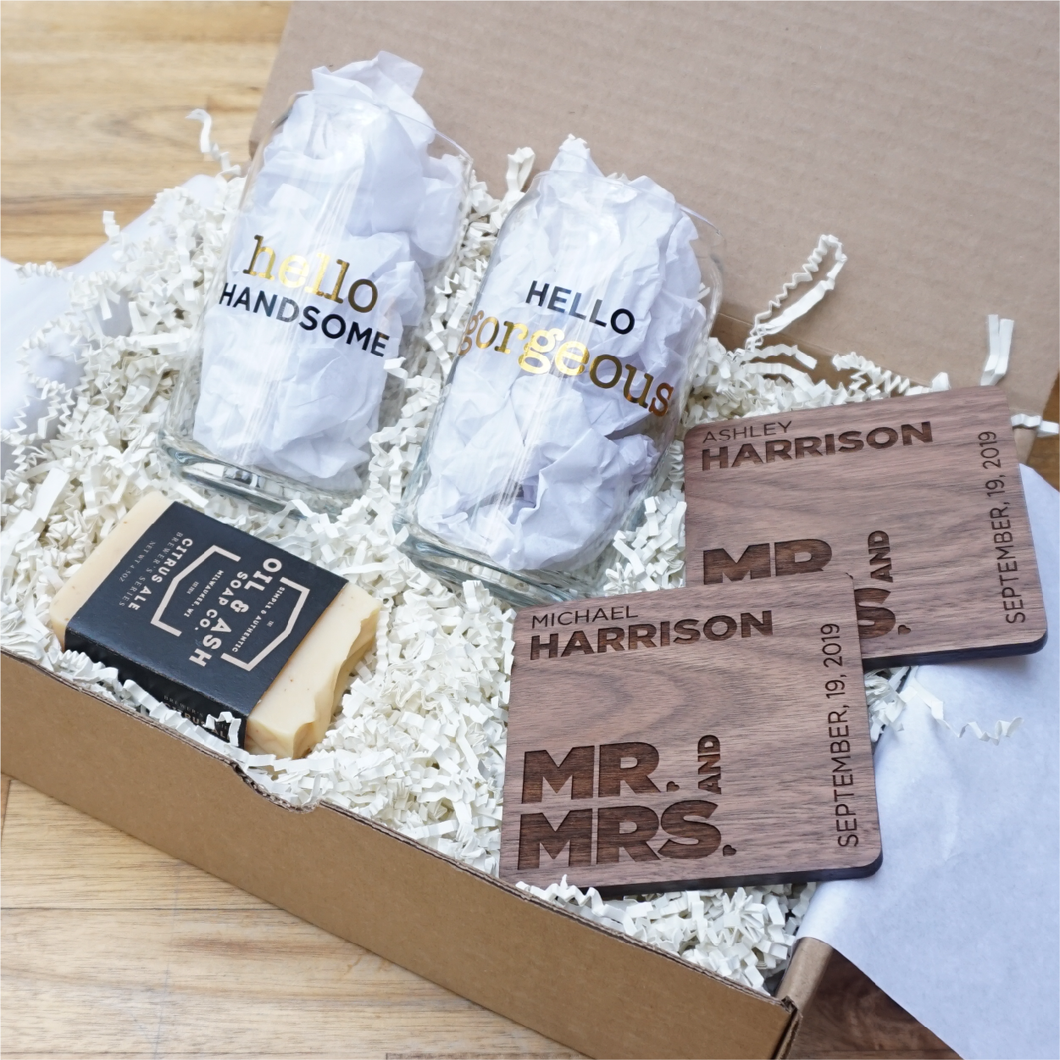 Beer Lovers Wedding Gift Box