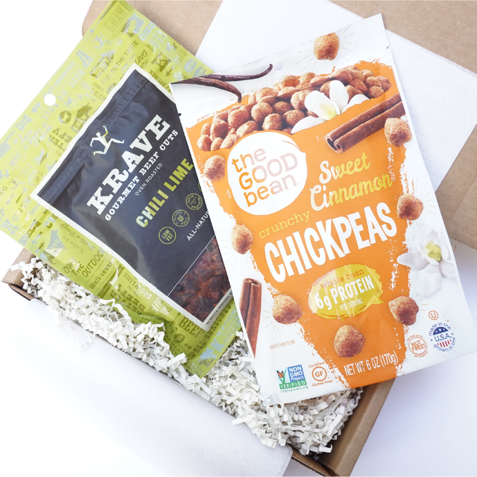 Premium Protein Office Snacks Corporate Gift Box