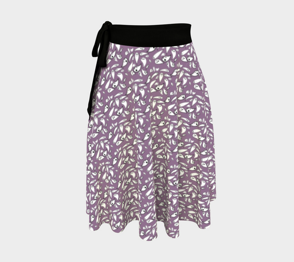 lavender ghosts skirt