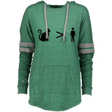Cats > People Ladies Hooded Low Key Pullover S-2XL