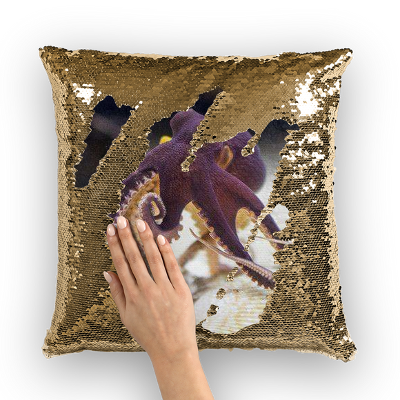 Create Your Own Sequin Cushion Cover