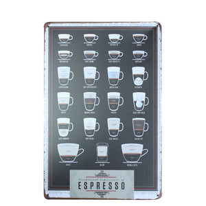 Espresso | Wall Decor