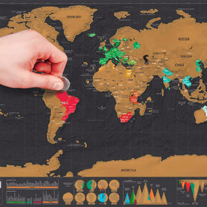Scratch the World | Travel Map