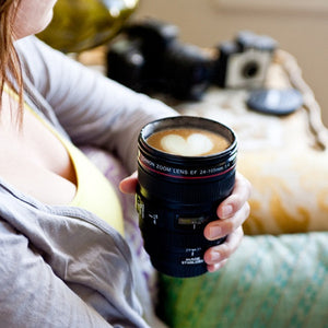 Camera Lens | Stainless Steel Travel Mug