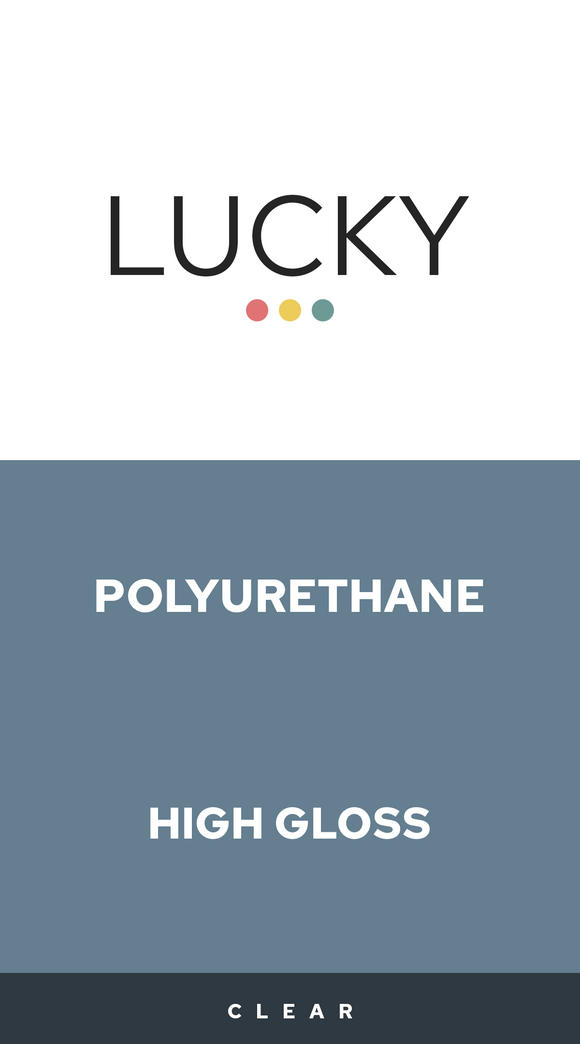 Lucky Polyurethane Acrylic Water Based High Gloss 1-Gallon