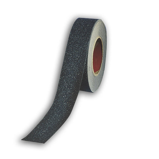 "ShurStep® Non-Skid Abrasive Tape, 6"" Width x 60' Length, Rubber Adhesive"