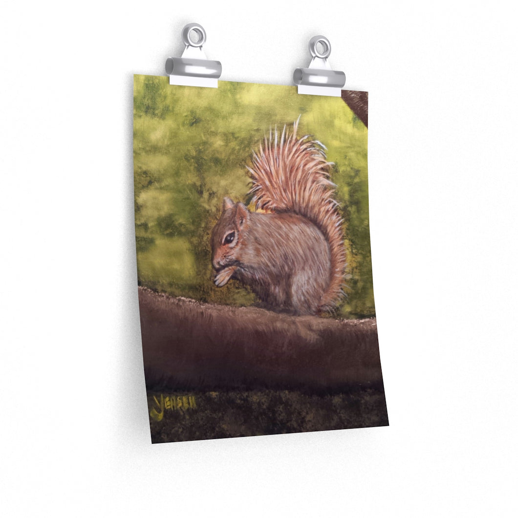 Poster Print - Squirrel by V. Jensen