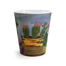 Load image into Gallery viewer, Latte Mug - Cactus Family