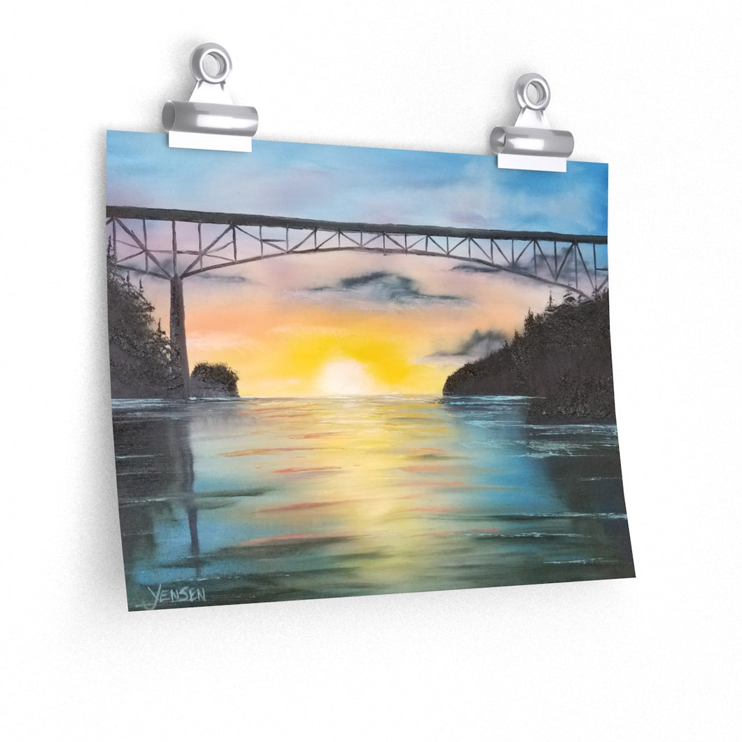 Poster Print - Deception Pass by V. Jensen